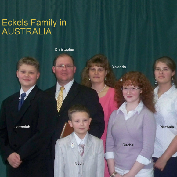 Chris & Yolanda Eckels (Australia)