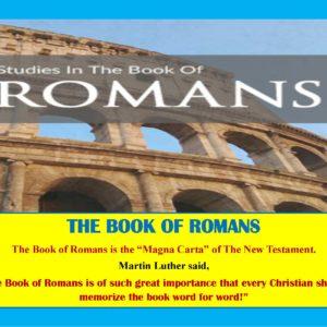 Sunday School Lesson: Romans