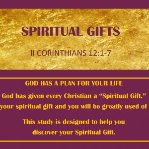 Spiritual Gifts (9 Lessons)