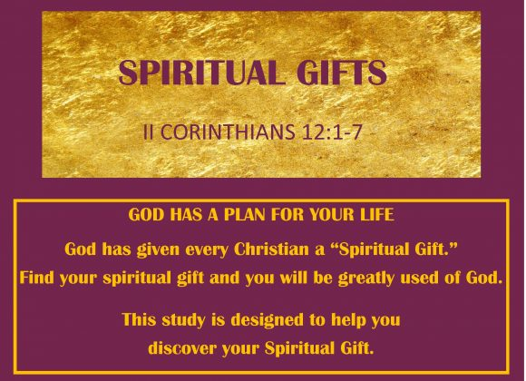 Discipleship and Sunday School Material: Spiritual Gifts