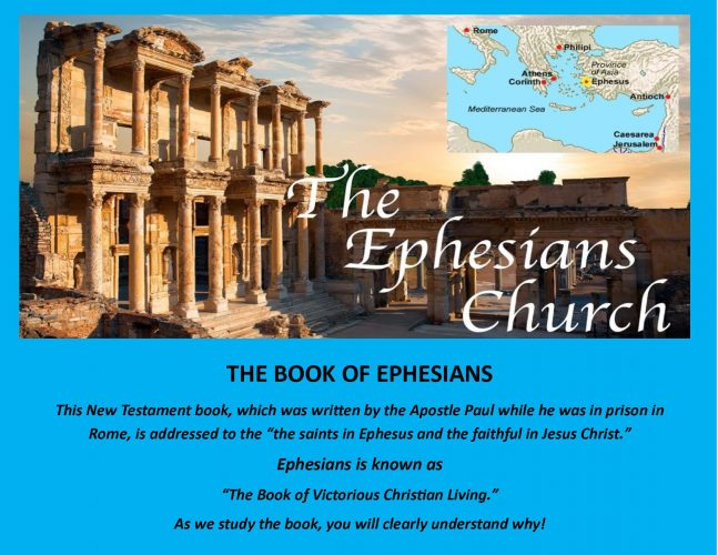 Sunday School Lessons: EPHESIANS (25 Lessons