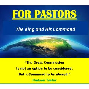 Message: THE KING AND HIS COMMAND