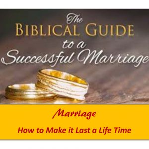 Marriage     (10 Lessons)