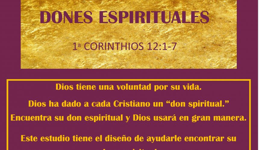 Dones Espirituales (18 Lecciones)