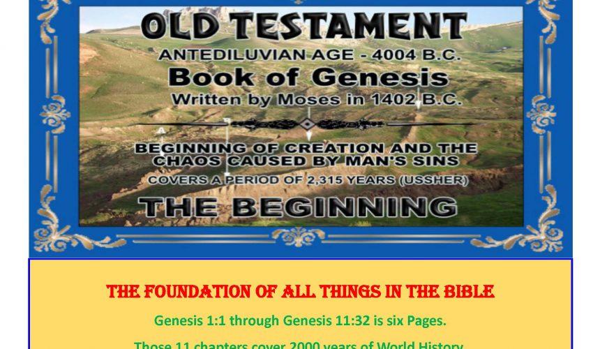 GENESIS     (14 Lessons)